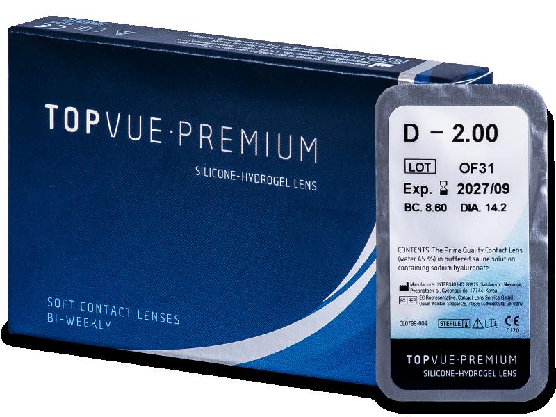 TopVue Premium (1 kom leća) - Dvotjedne kontaktne leće
