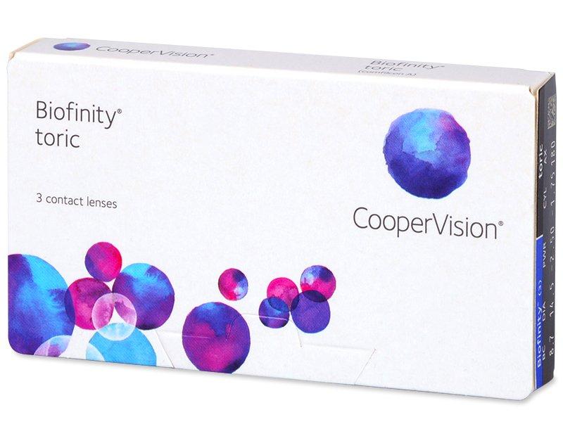 Biofinity Toric (3komleća) - Torične kontaktne leće