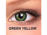 ColourVUE - Fusion - s dioptrijom (2 kom leća) - Green Yellow