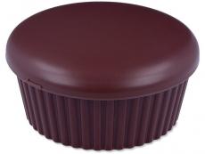 Kutija s ogledalom Muffin - smeđa