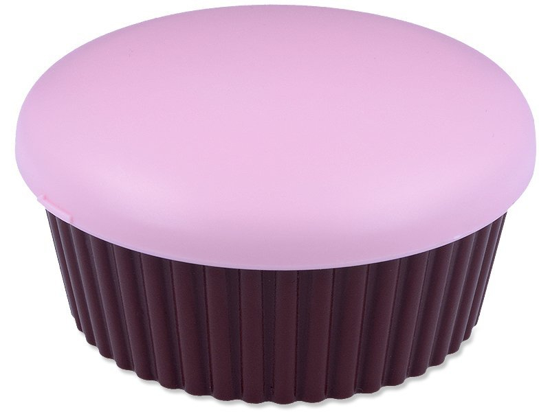 Kutija s ogledalom Muffin - roza  - Kutija s ogledalom Muffin - roza