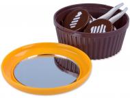 Kutije za leće s ogledalom - Kutija s ogledalom Muffin - narančasta