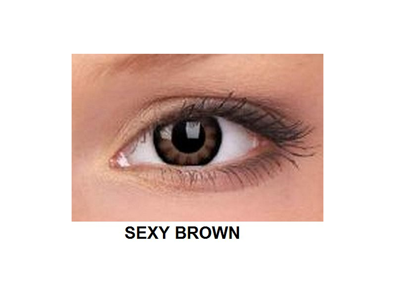 ColourVUE - BigEyes (2 kom leća) - Sexy Brown
