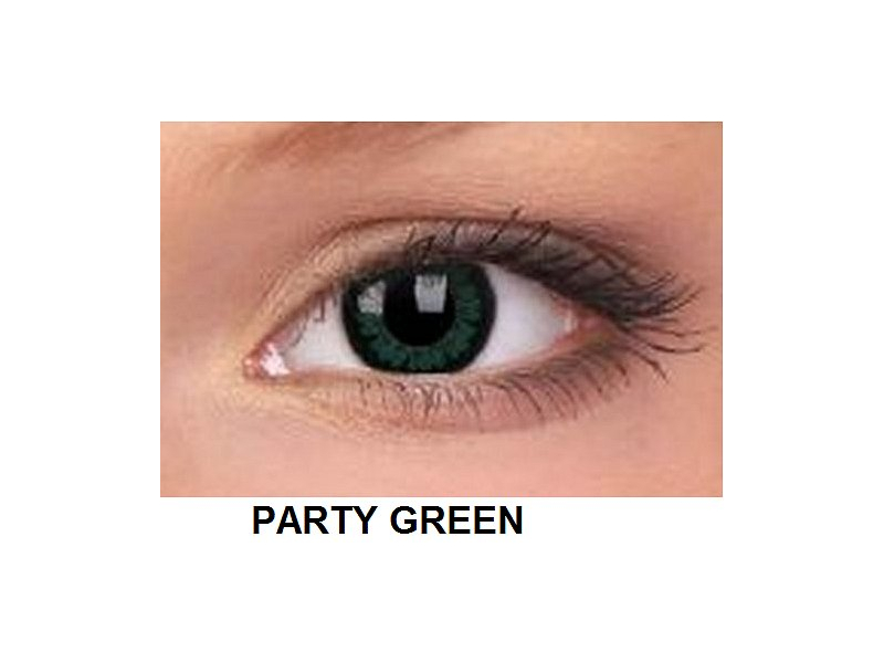 ColourVUE - BigEyes (2 kom leća) - Party Green