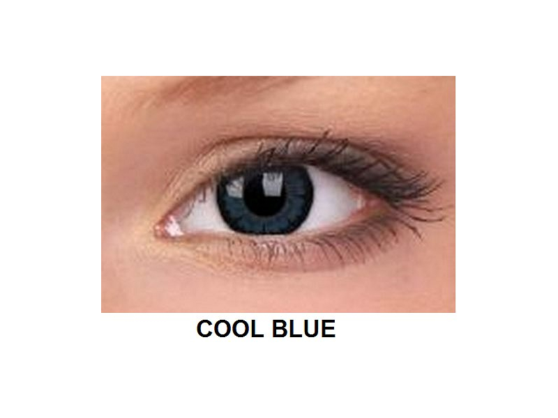 ColourVUE - BigEyes (2 kom leća) - Cool Blue