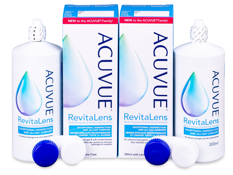 Otopina Acuvue RevitaLens 2x 300 ml  - Economy duo pack- solution