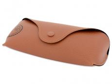 Ray-Ban New Wayfarer RB2132 - 901/58  - Original leather case (illustration photo)