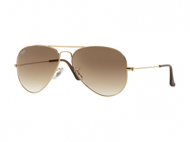 Pilot / Aviator sunčane naočale - Ray-Ban AVIATOR LARGE METAL RB3025 - 001/51