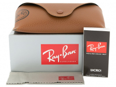 Ray-Ban Aviator Large Metal RB3025 - 112/17  - Preview pack (illustration photo)