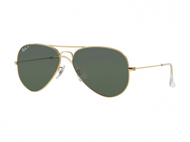 Pilot / Aviator sunčane naočale - Ray-Ban AVIATOR LARGE METAL RB3025 - 001/58