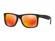 Muške sunčane naočale - Ray-Ban JUSTIN RB4165 - 622/6Q