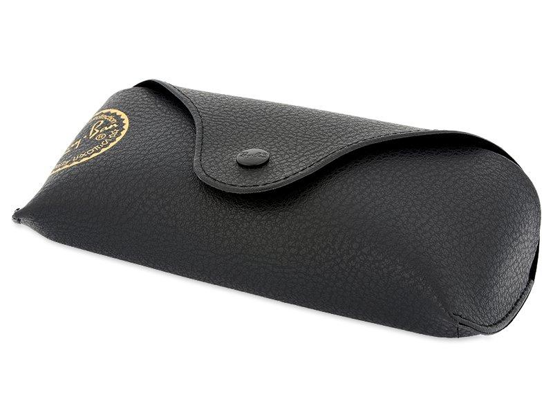 Ray-Ban New Wayfarer RB2132 - 6052  - Original leather case (illustration photo)