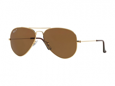 Pilot / Aviator sunčane naočale - Ray-Ban AVIATOR LARGE METAL RB3025 - 001/57
