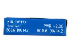 Air Optix plus HydraGlyde (6 kom leća)