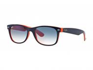 Ženske sunčane naočale - Ray-Ban NEW WAYFARER RB2132 - 789/3F