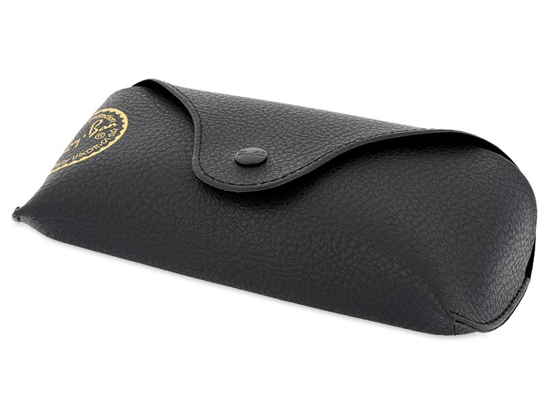 Ray-Ban New Wayfarer RB2132 - 789/3F  - Original leather case (illustration photo)