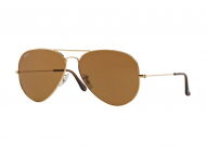 Sunčane naočale - Ray-Ban Aviator Large Metal RB3025 - 001/33