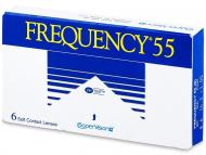 Mjesečne kontaktne leće - Frequency 55 (6komleća)