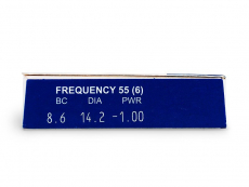 Frequency 55 (6komleća) - Pregled parametara leća