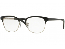 Ray-Ban RX6317 - 2832 Clubmaster Flat Metal