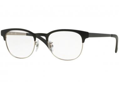 Browline okviri za naočale - Ray-Ban RX6317 - 2832 Clubmaster Flat Metal