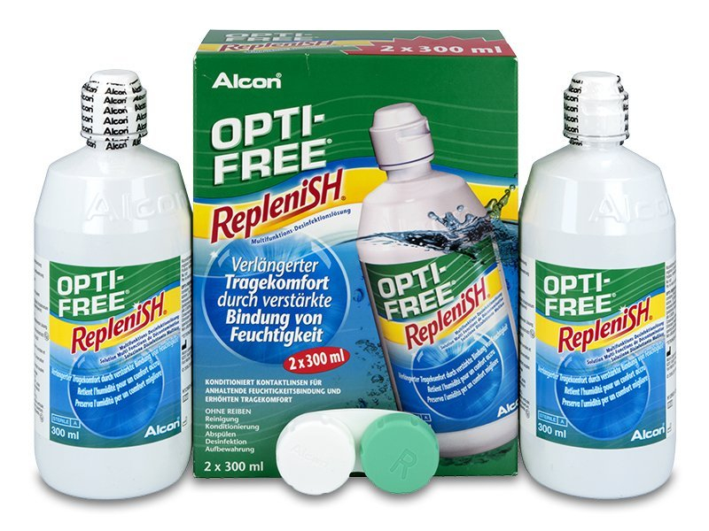 Otopina OPTI-FREE RepleniSH 2 x 300 ml