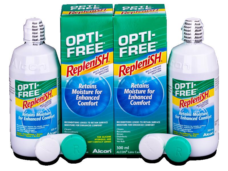 Otopina OPTI-FREE RepleniSH 2x300ml  - Economy duo pack- solution