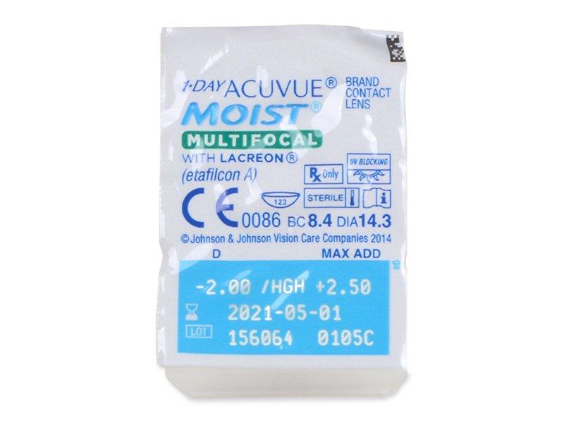 Blister pack preview  - 1 Day Acuvue Moist Multifocal (30 kom leća)