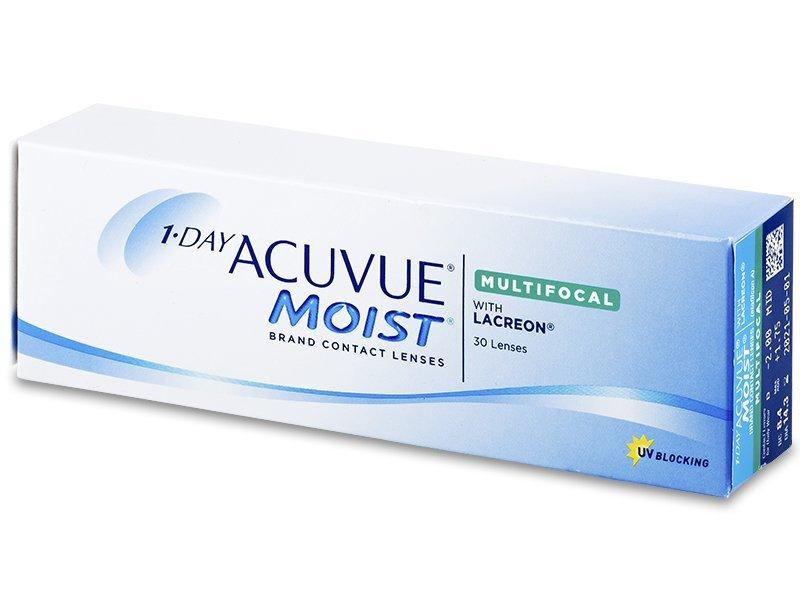 Torične kontaktne leće - 1 Day Acuvue Moist Multifocal (30 kom leća)