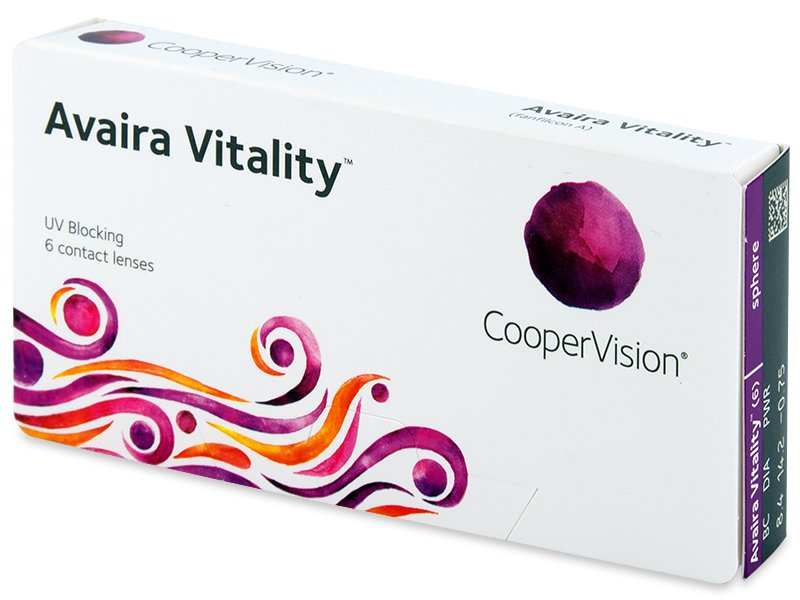 Avaira Vitality (6 kom leća) - Contact lenses