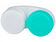 Posudice za kontaktne leće - Kutija zeleno-bijela