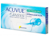 Kontaktne leće Johnson and Johnson - Acuvue Oasys for Presbyopia (6 kom leća)