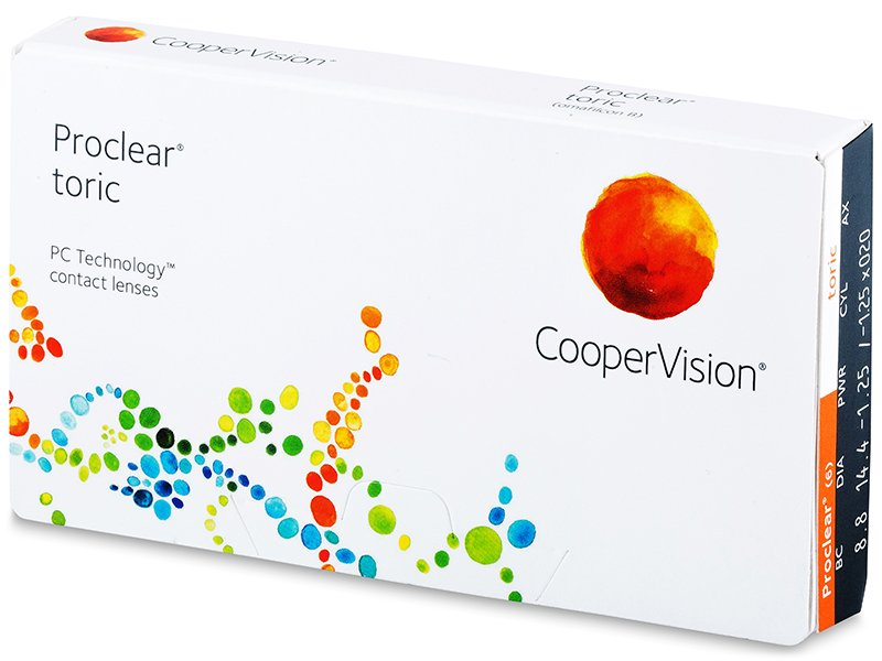 Torične kontaktne leće - Proclear Toric (3 komleća)