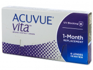 Kontaktne leće Johnson and Johnson - Acuvue Vita (6 kom leća)
