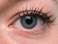 TopVue Daily Color - dioptrijske (10 kom leća) - Blue on grey eye