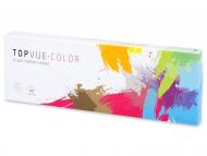 Leće u boji - TopVue Daily Color - nedioptrijske (10 kom leća)