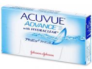 Dvotjedne kontaktne leće - Acuvue Advance (6kom leća)
