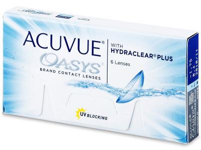 Dvotjedne kontaktne leće - Acuvue Oasys (6komleća)