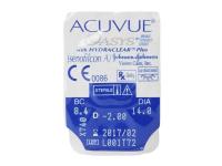 Acuvue Oasys (6komleća) - Pregled blister pakiranja