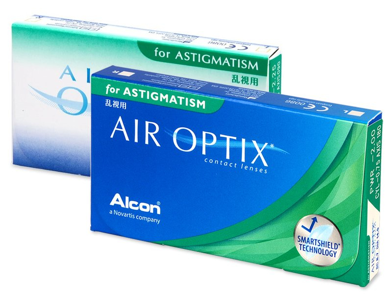 Torične kontaktne leće - Air Optix for Astigmatism (3 kom leća)