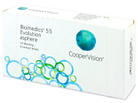 Biomedics 55 Evolution (6 kom leća)