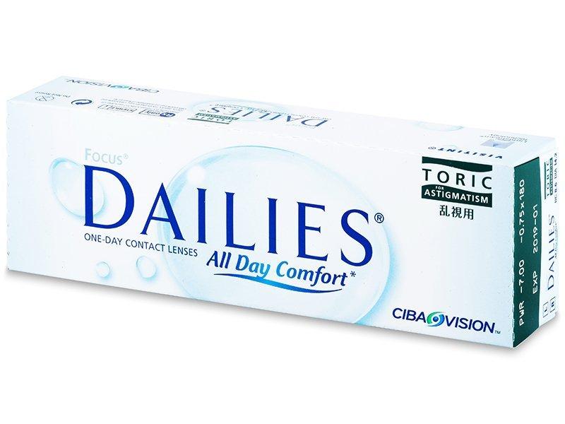 Torične kontaktne leće - Focus Dailies Toric (30komleća)