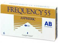 Mjesečne kontaktne leće - Frequency 55 Aspheric (6komleća)