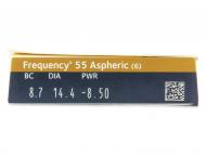Frequency 55 Aspheric (6komleća) - Pregled parametara leća