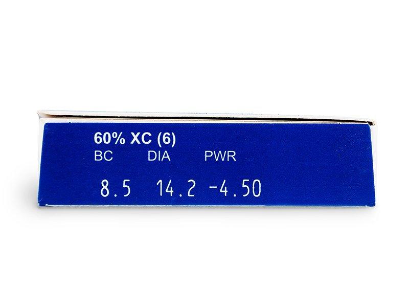 Pregled parametara leća - FREQUENCY XC (6komleća)
