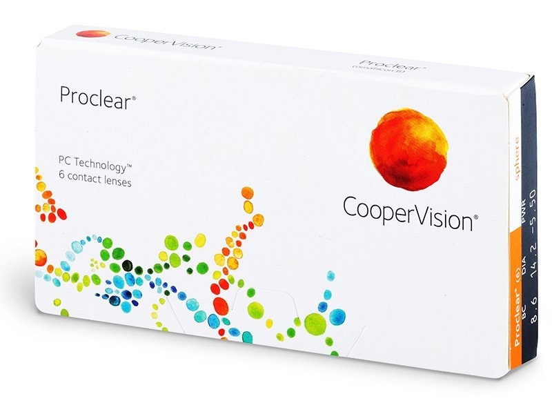 Mjesečne kontaktne leće - Proclear Compatibles Sphere (6komleća)