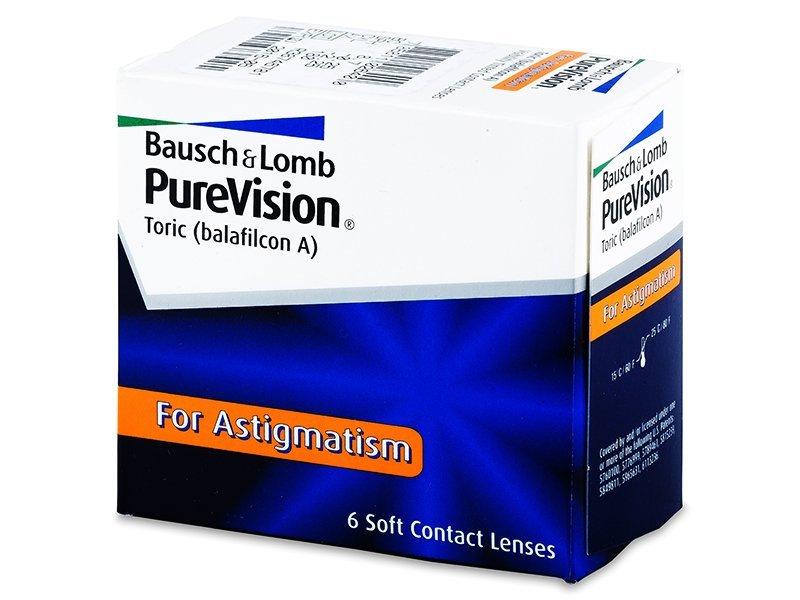 PureVision Toric (6komleća) - Torične kontaktne leće