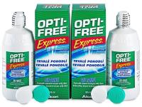 Otopina OPTI-FREE Express 2x355ml  - Ekonomično duplo pakiranje otopine