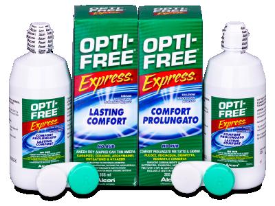 Otopina OPTI-FREE Express 2x355ml  - Economy duo pack- solution