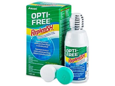 Otopina za čišćenje - Otopina OPTI-FREE RepleniSH 120ml